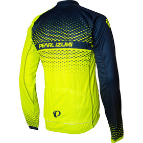 PEARL iZUMi Elite LTD Maillot Térmico Manga Larga Hombre, screaming yellow/navy